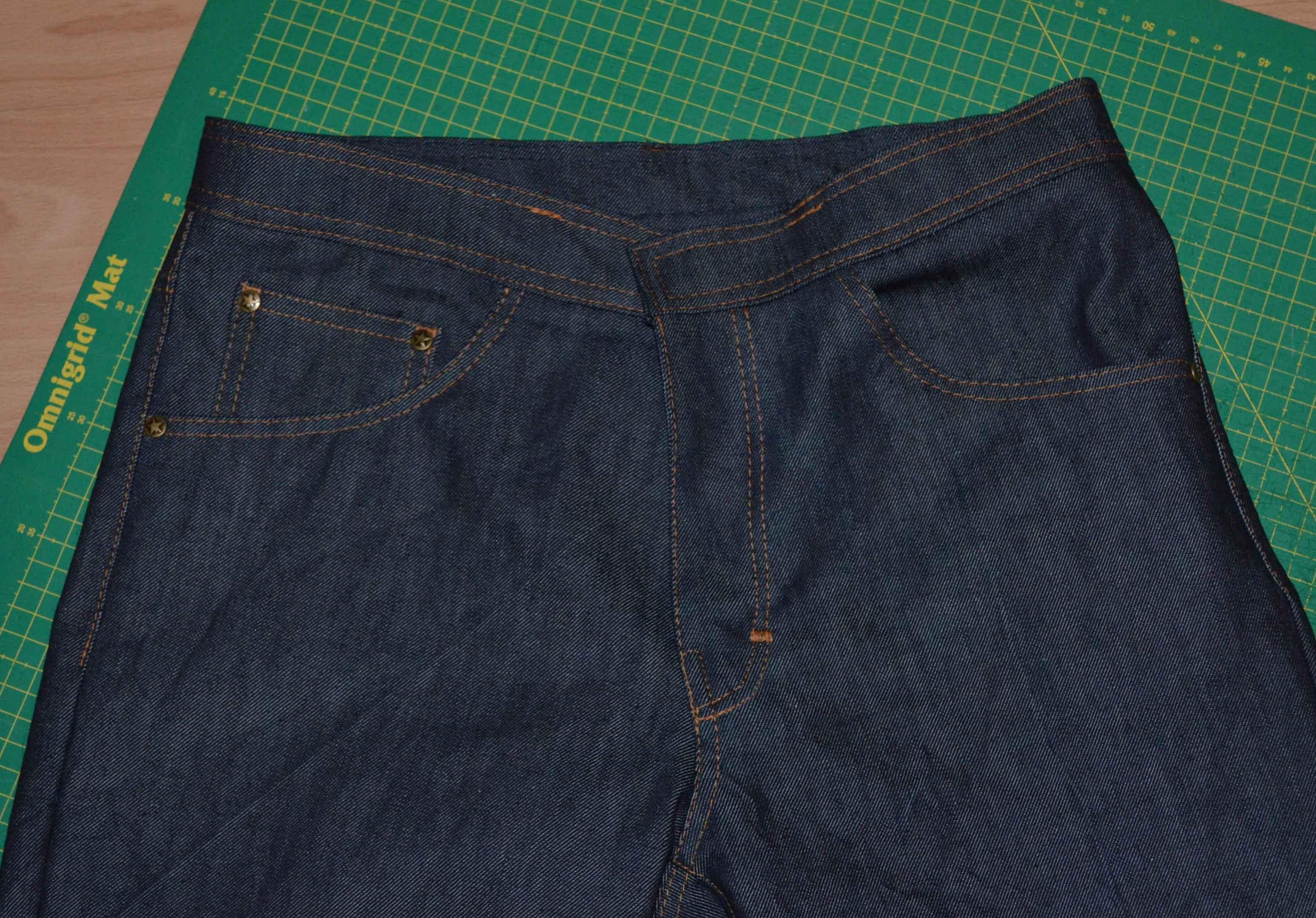 wie n he ich eine jeans eine anleitung in vier beitr gen 4 bund g rtelschnallen und knopfloch. Black Bedroom Furniture Sets. Home Design Ideas