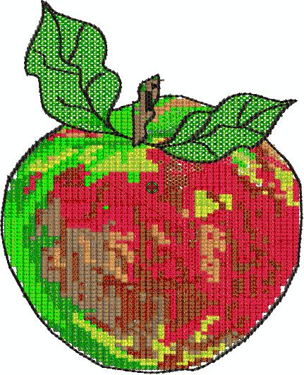 roetsch Freebie Apfel mit zwei Blaettern