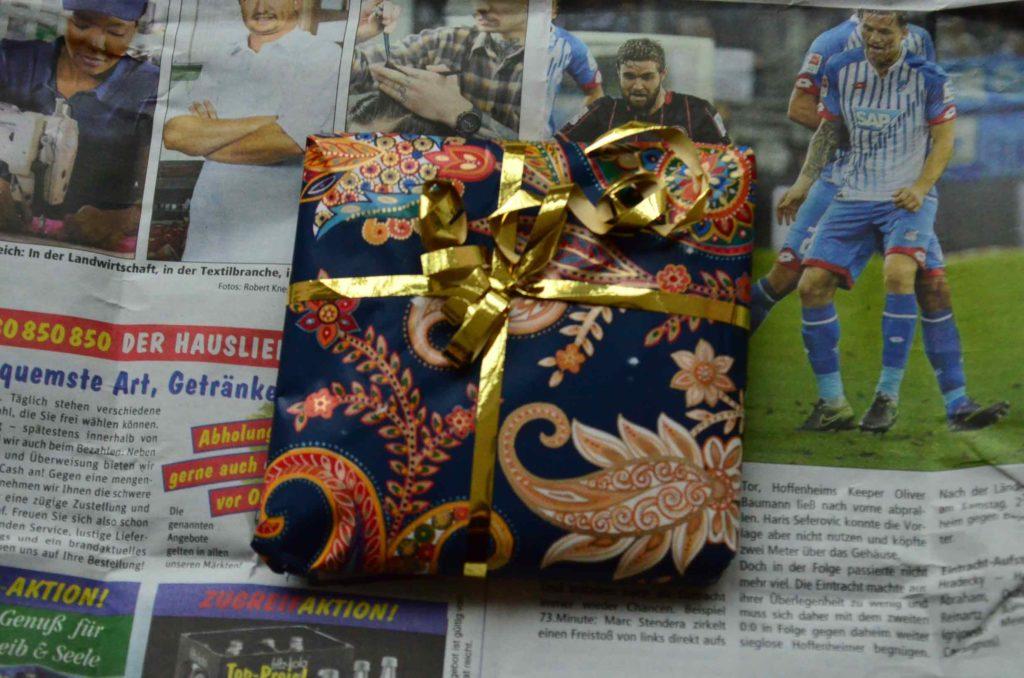 Paisley-Geschenkverpackung