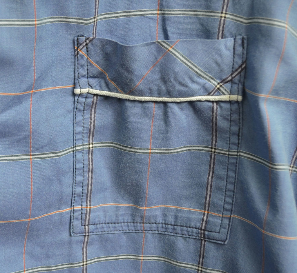 roetsch-Brusttasche-karierter-Herren-Schlafanzug-mit-Paspelband
