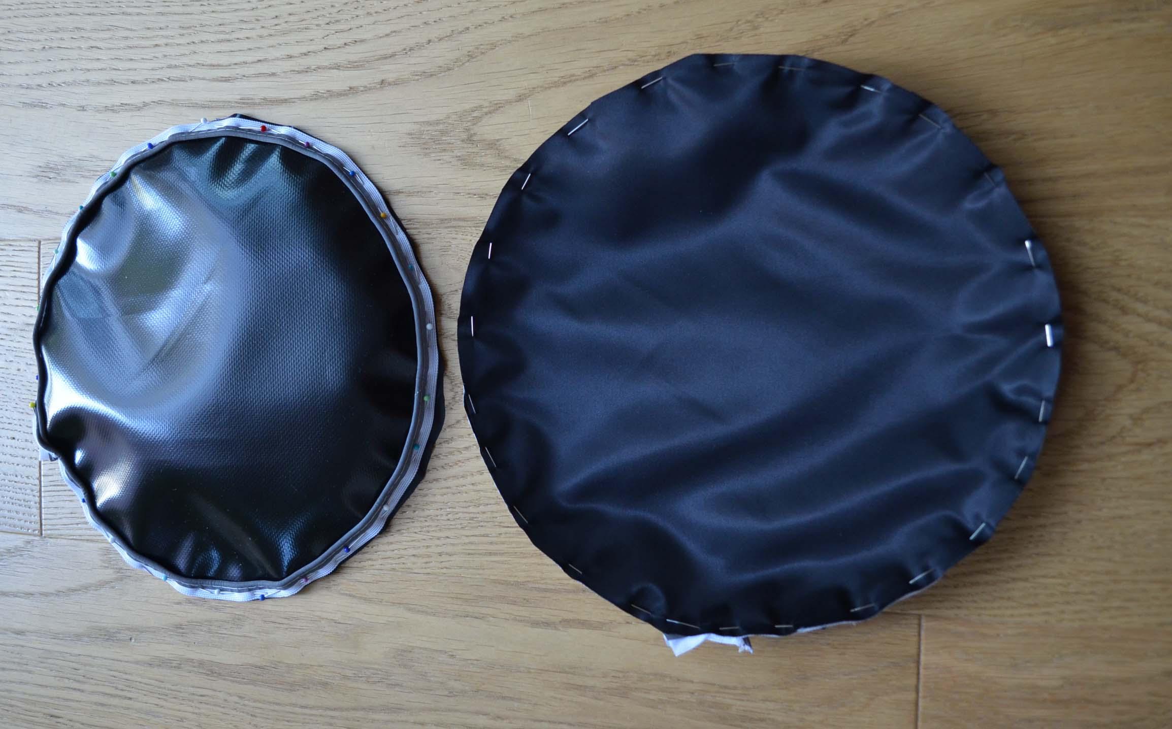 roetsch paspelband und futter runde seiten schwarze lkw planen sport tasche. Black Bedroom Furniture Sets. Home Design Ideas