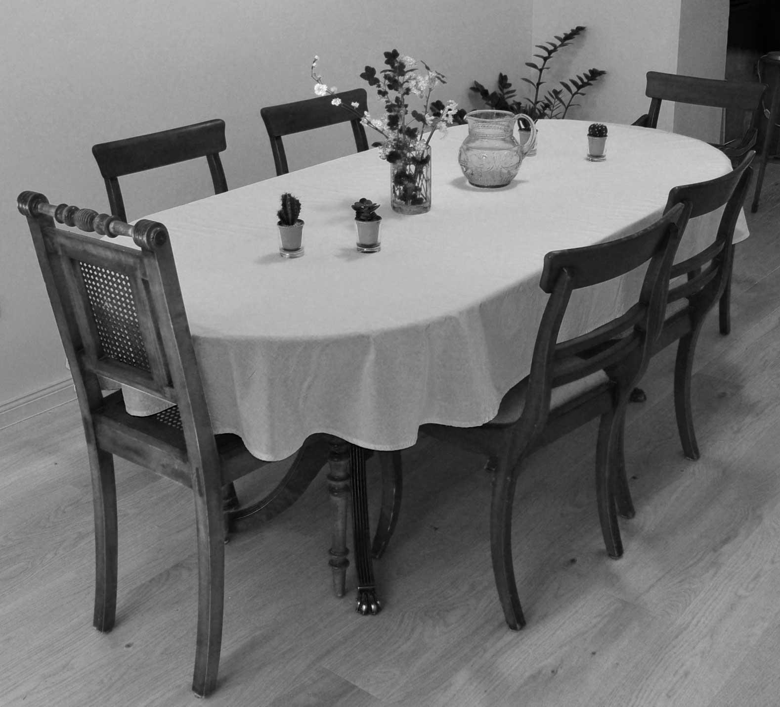 DIY: Ovale Tischdecke nähen – roetsch.net